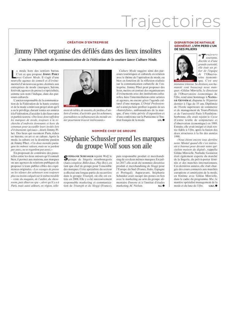 Journal du Textile 01/29/2019